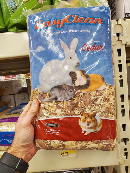 Cedar Shavings as Bunny Bedding