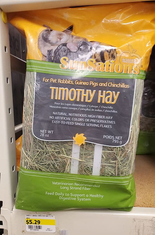 Timothy Hay for Rabbit Bedding